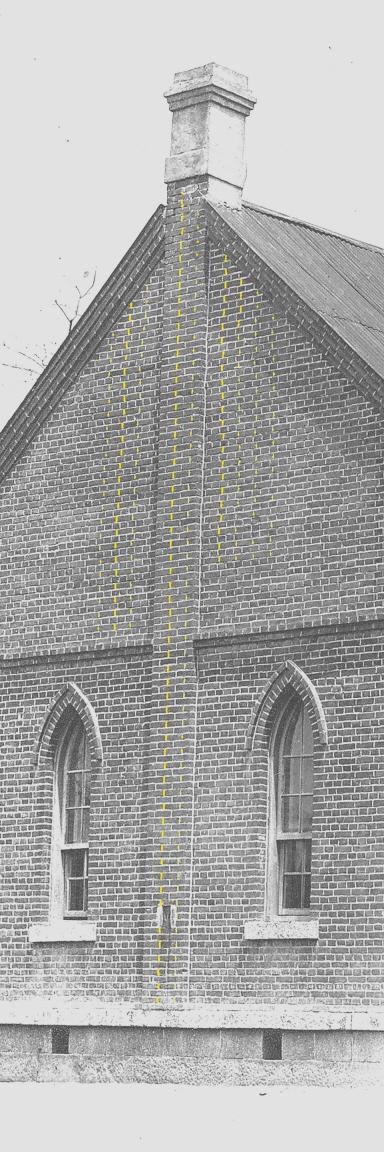 00-내리교회,제물포웨슬리예배당(서측날개,yelow,줄눈자국확인,2012.06.12)
