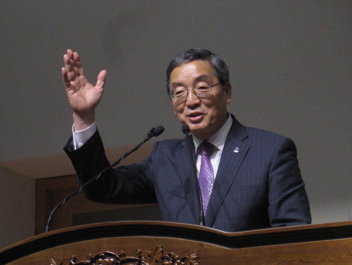 인천광역시 기독교총연합회 총회장 이건영 목사의 축사