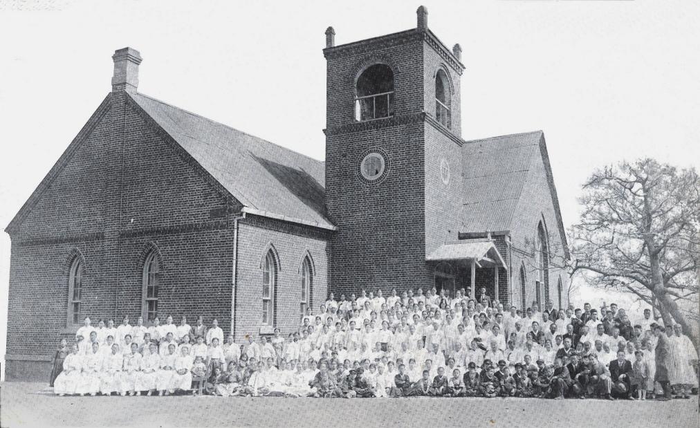1928년도 십자가형예배당(제물포위슬리예배당,남서측)의 복원 기본사진자료