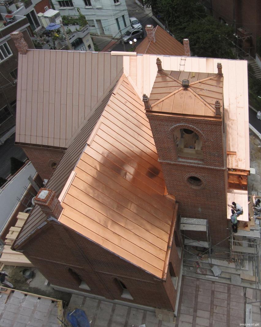 20120907,십자가,제물포웨슬리예배당