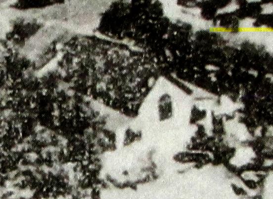 위에서본,남산현예배당,종탑