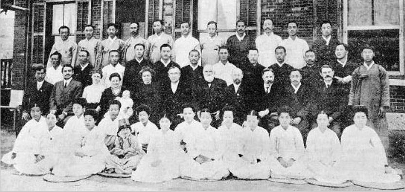 성결교회 최초목사안수식.1914.04,경성성서학원