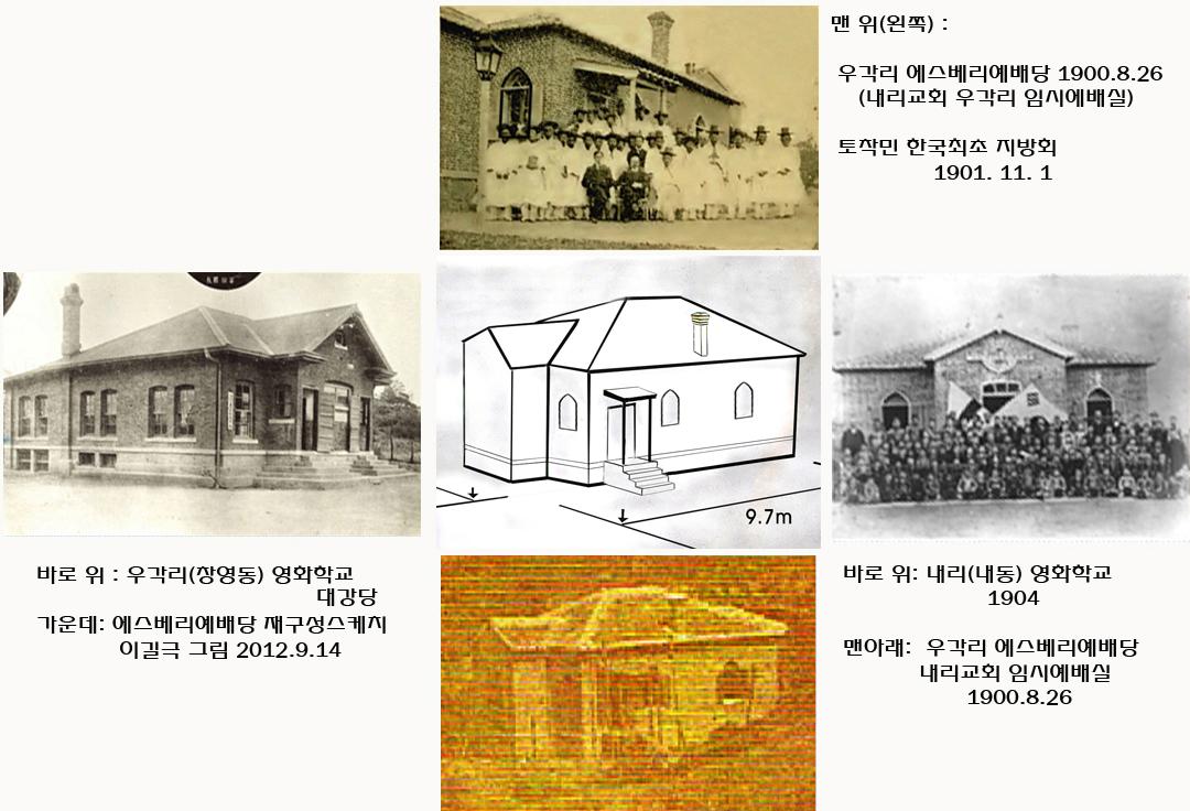 2012.11.20,사진비교자료(재구성,에스베리,영화남,영화여강당,1901최초지방회)