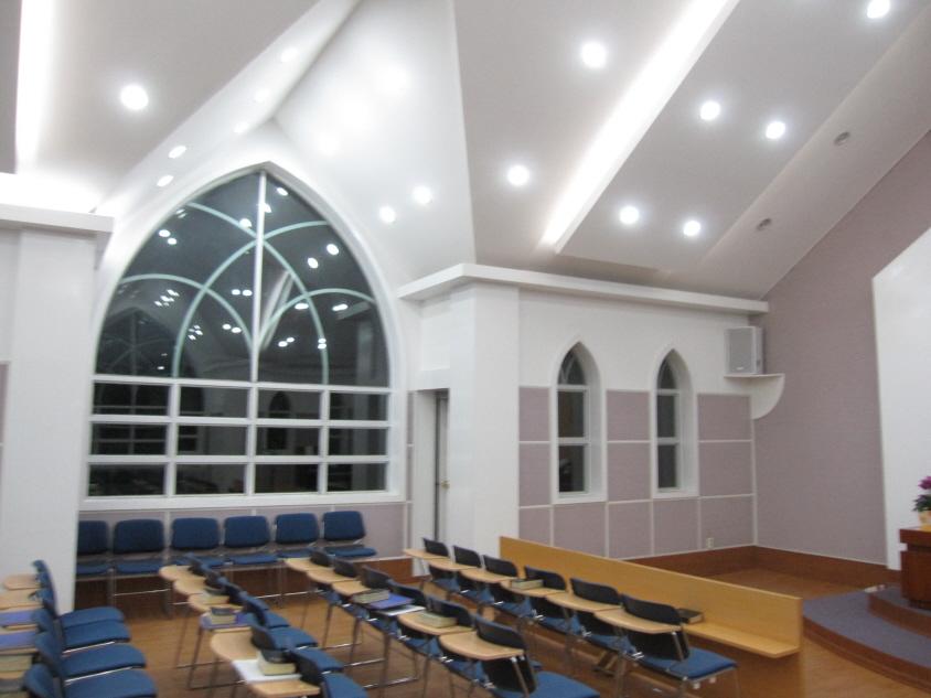 예배실 내부